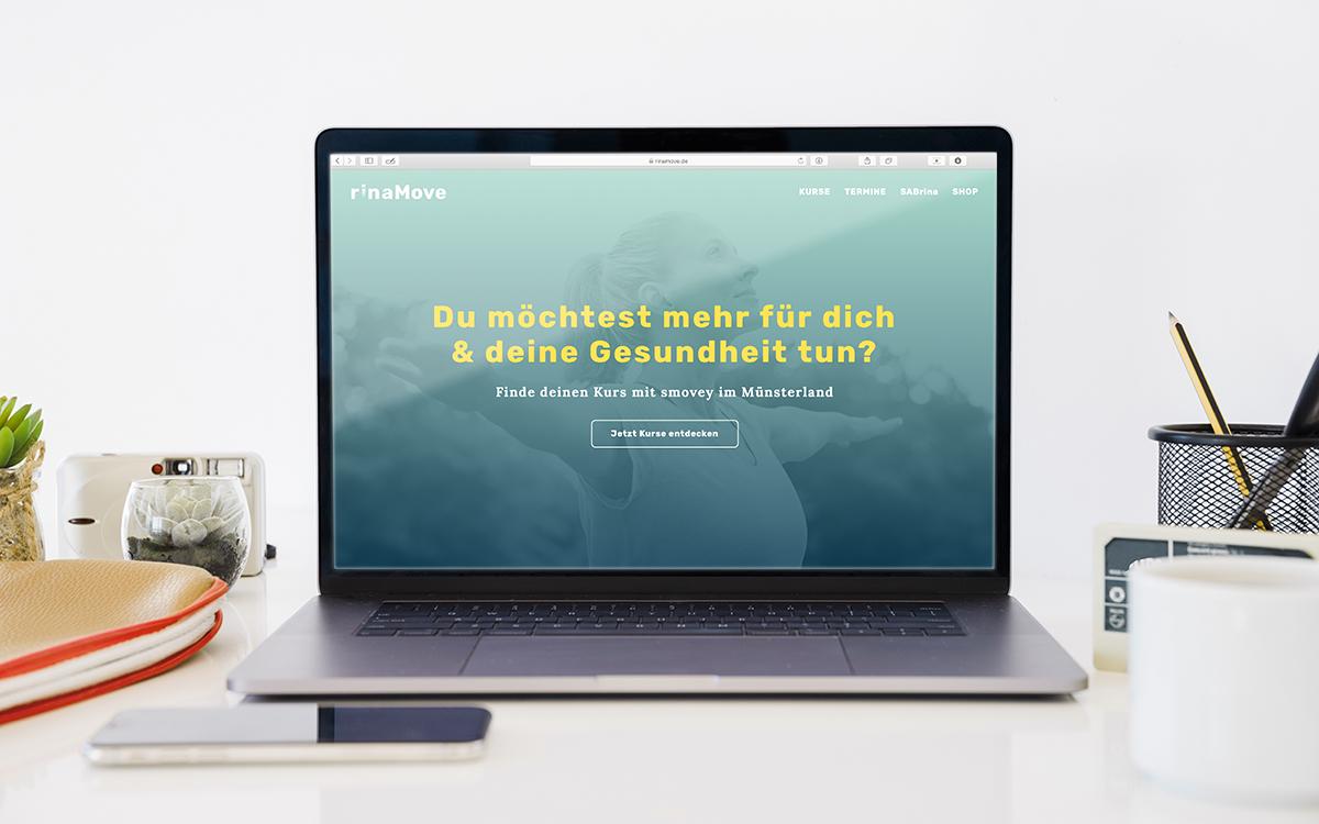 lensen mediengestalterin würzburg rinamove website